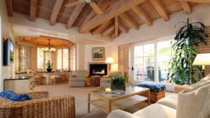 Villa Suite interior with furniture