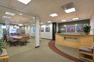 Wiseman Rohy reception area