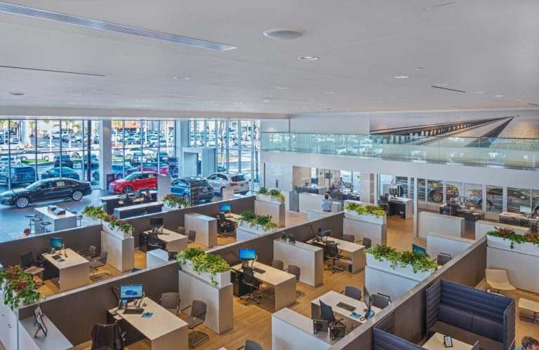 Hoehn Audi Carlsbad, California, Interior View