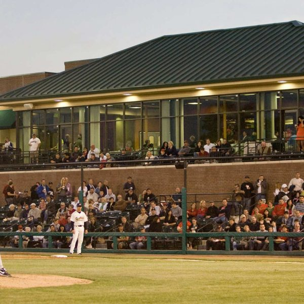 Baseball Stadium for the Visalia Oaks, Visalia, California