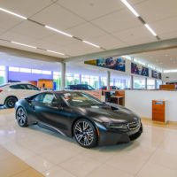 BMW Ontario, California, Interior View