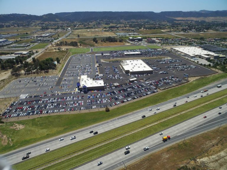 Carmax, Murrieta CA, Aerial View