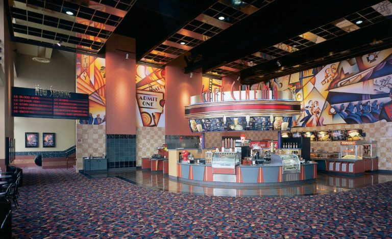 Century Theaters Daly City, California, Interior View