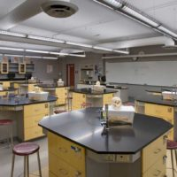 Colton High School – Math & Science Classroom Buildings Interior