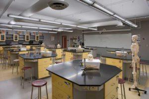 Colton High School – Math & Science Classroom Buildings Interior