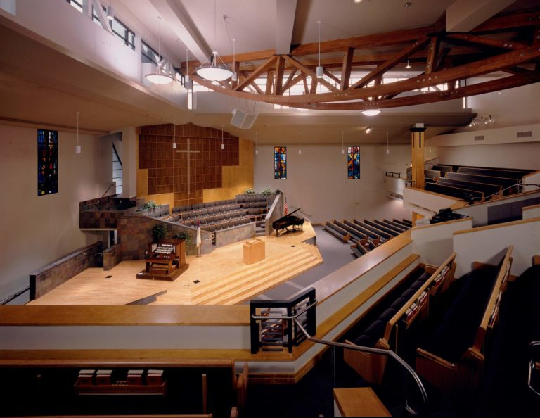 First Chinese Baptist Church, Los Angeles, California, Sanctuary