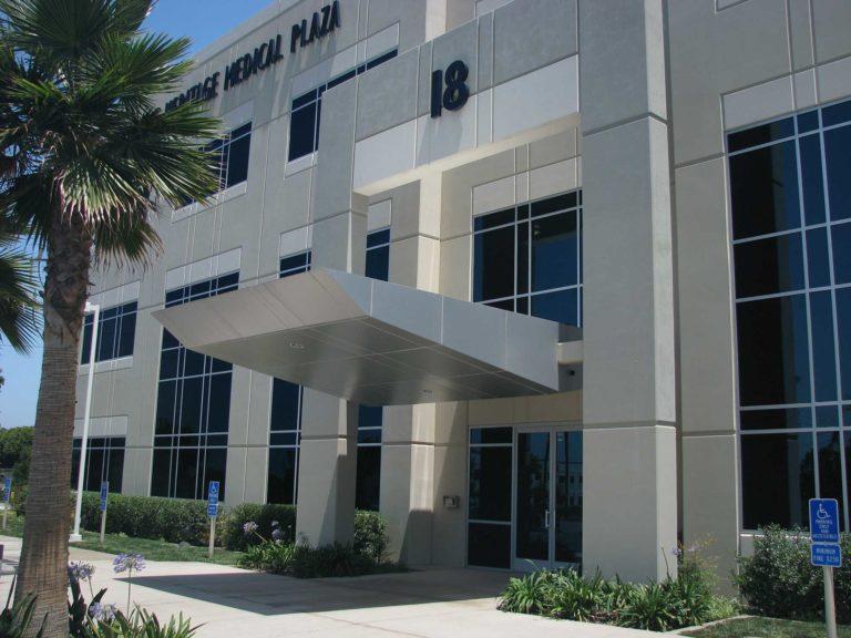Irvine Heritage Medical Plaza Front Entrance