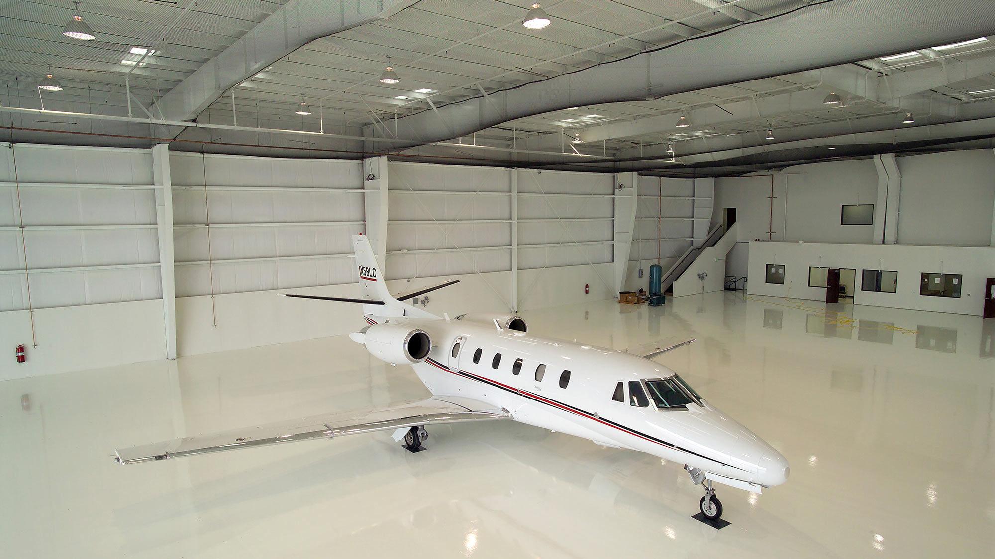 Jet Source Hangar, Carlsbad, California