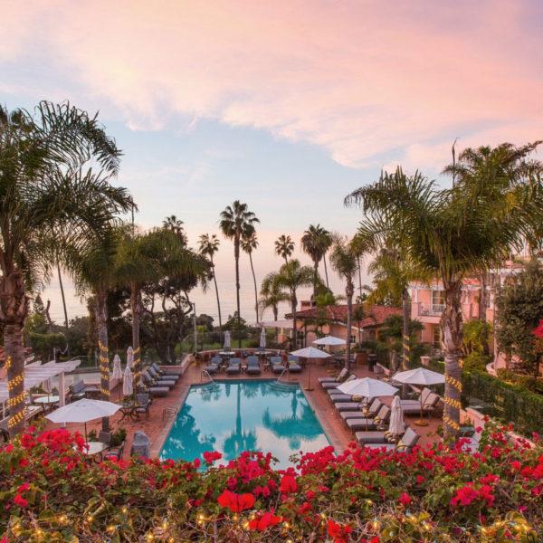 La Valencia Hotel Villas, San Diego, California