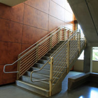 Miramar Community College, Math & Science Building, Interior view of stairs
