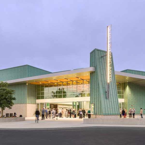 Oceanside High School Performing Arts Center Exterior