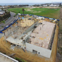 Hoehn Porsche, Carlsbad, CA, during construction