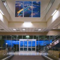 Premier Jet Airplane Hangar, Office Building & FBO, Carlsbad, California, Interior