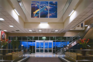 Premier Jet Airplane Hangar, Office Building & FBO, Carlsbad, California, Interior