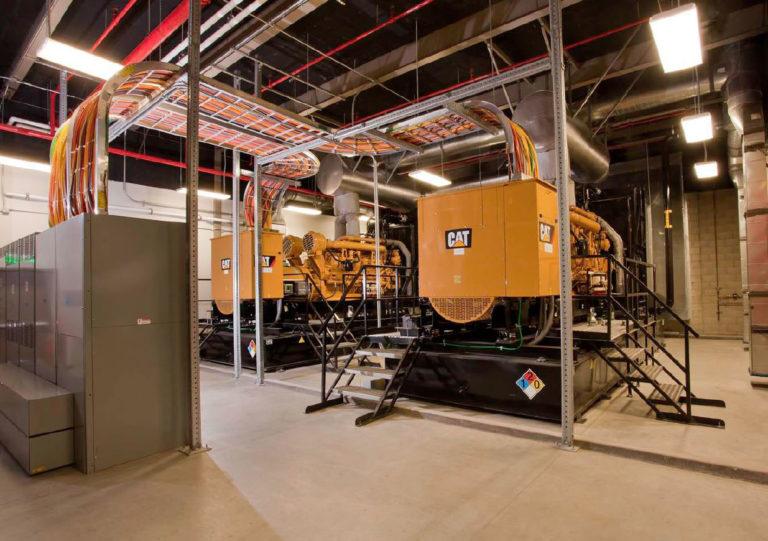 Qualcomm Cogeneration Facility, San Diego, CA, Interior View
