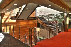 Qualcomm Building Q & Cogen Facility Interior