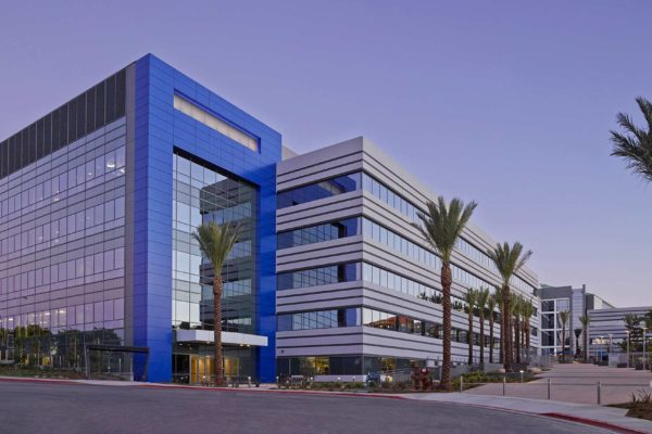 Qualcomm Building Q & Cogen Facility Exterior