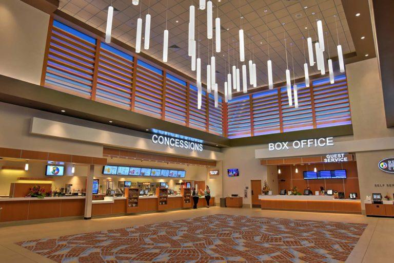 Regal Theater – Kapolei Commons Kapolei, Hawaii, Interior Concessions & Box Office
