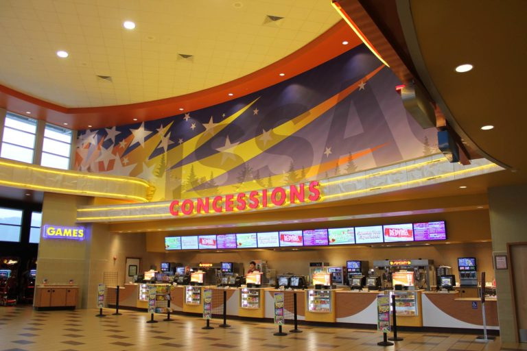 Regal Theaters – Grand Ridge Plaza Issaquah, Washington, Interior Concessions