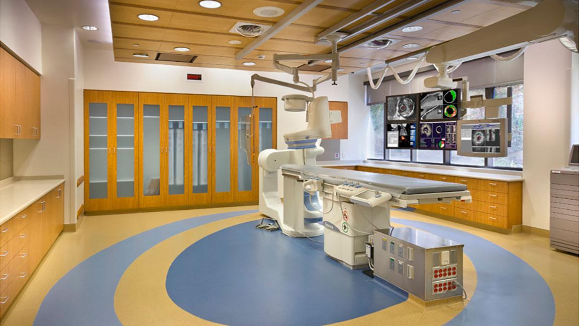 Catheterization Laboratory Scripps Hospital Interior