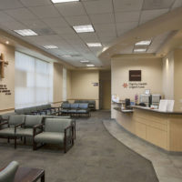 Sierra San Antonio Medical Plaza Reception Area
