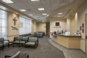 Sierra San Antonio Medical Plaza Reception Area