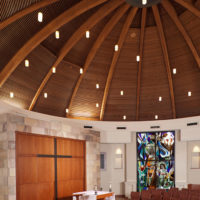 St. Therese of Carmel Social Hall & Day Chapel ,San Diego, California, Interior