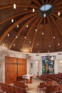 St. Therese of Carmel Social Hall & Day Chapel ,San Diego, California, Interior